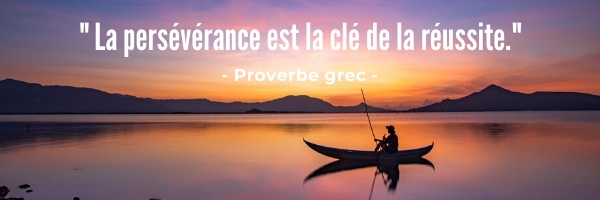 Proverbe grec réussite